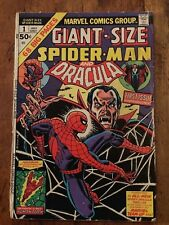 1974 MARVEL GIANT-SIZE SPIDER-MAN & DRACULA  #1  HALLOWEEN Classic Cover KEY