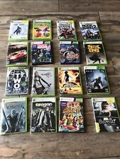 Lot Of 16 Xbox 360 Games - army of two, dance. lost planet, halo 4, viva pinata
