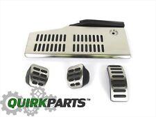 VW Volkswagen Manual Transmission Sport Pedal Caps Set Jetta Golf Beetle GTI OEM