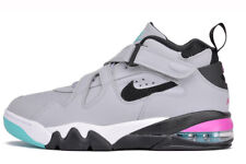Nike Air Force Max CB Charles Barkley Gray Fuchsia Spurs AJ7922-003 Size 10