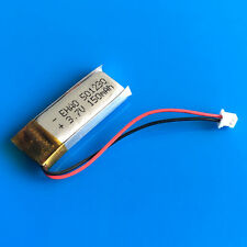150mAh 3.7V LiPo Battery for MP3 Video Pen Bluetooth 501230 JST 1.25mm Connector