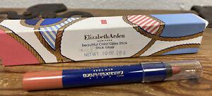 Elizabeth Arden Beautiful Color Gloss Stick W/ Sharpener Sea Breeze 04 New Scuff