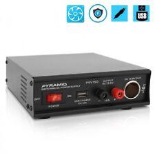 Pyramid Psv150 Desktop Bench Power Supply Ac To Dc Power Converter 12 Amp