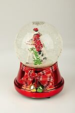 -Musical Snow Globe Water Ball Christmas Ornament