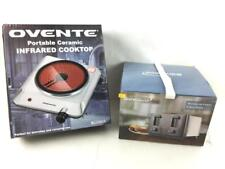 Ovente Infrared Cooktop, Brentwood 4-slice Toaster Lot 3378