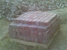 ANTIQUE RED BRICK COFFEYVILLE STREET PAVERS DIRTY (6,000 AVAILABLE)