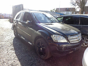 2007 MERCEDES ML420 W164 SPORT O/S/F DRIVER SIDE FRONT BARE DOOR BREAKING/PARTS