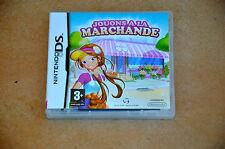 Jeu Nintendo DS : JOUONS à la MARCHANDE  -  DSi XL 3DS - COMPLET en  VF