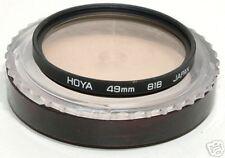 49mm filtro 81B Hoya