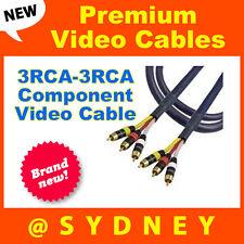 Premium Neotech 1.5m 3RCA - 3RCA Component Video Audio AV Cable