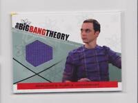 BIG BANG THEORY SEASONS 3 & 4 TRADING CARDS  COSTUME CARD SHELDON'S SHIRT M-23