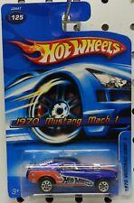 MACH 1 BLUE DRAG 1970 70 2006 125 RACE CAR MUSTANG FORD HW HOT WHEELS