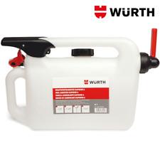 Tanica Benzina Diesel Gasolio Carburante Omologata 6 Litri - WÜRTH 089142060