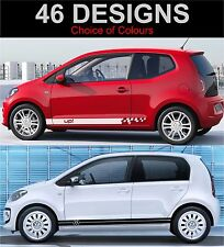 volkswagen up side stripes decals graphics stickers vw up