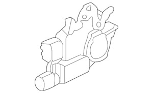 Genuine Acura Actuator Assembly L Front Door Lock 72155-SDA-A01