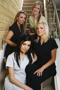 Salon / Spa / Hairdressing V-Neck Tunic in Aqua Blue - All sizes