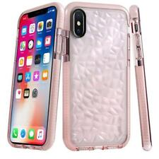 For iPhone XS Max XR 7 8 Plus Case Shockproof Clear Diamond Soft Silicone Cover
