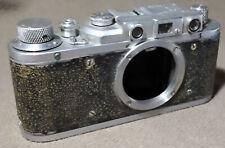 Zorki-1 Vintage rangefinder Soviet camera #307770 Only body without lens
