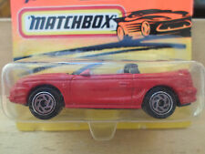 Matchbox 43 Ford Mustang Cobra Made in Thailand