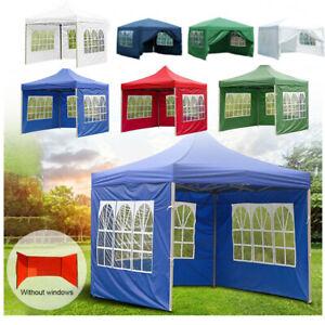Garden PopUp Gazebo Marquee Party Tent Wedding Canopy Pavilion Outdoor