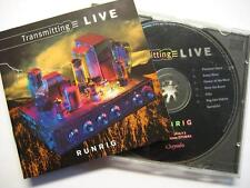 "RUNRIG ""TRANSMITTING LIVE"" - CD"