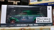 1:24 Scale 1939 Chevrolet Norman Rockwell Panel Truck Delivery Greenlight Model