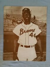 "Henry Aaron Picture Photo Print - 10""x14"""