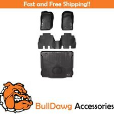 All Weather Floor Mats And Cargo Liner for Wrangler Unlimited 2015-2016 Black