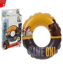 INFLATABLE SWIM RING TYRE TUBE BEACH SWIMMING POOL AID TOYS FLOAT RING SAFE GOOD