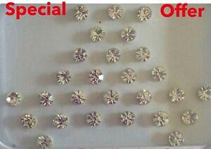 CRYSTAL DIAMOND INDIAN BINDI JWELLERY * Bollywood Style *