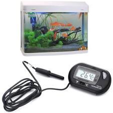 Digital LCD Fish Tank Aquarium Marine Water Thermometer Temperature Black BF-1