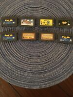 8 Game Gameboy Advance Game Lot, Super Mario Advance, Crash Bandicoot