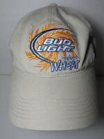 BUD LIGHT GOLDEN WHEAT Budweiser Beer Anheuser-Busch Advertising  TAN HAT CAP