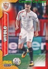 449 VITOLO ESPANA SEVILLA FC CARD MGK LIGA 2017 PANINI