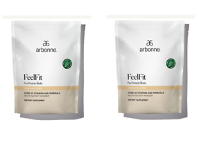 ARBONNE Combo 2 - FeelFit Pea Protein Shake-Vanilla Flavor #2070 .EXP:12/2022 or