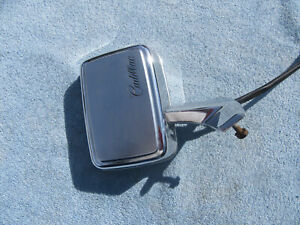 1977 78 79 Cadillac Deville Fleetwood OEM Remote Mirror Assembly