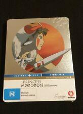 Studio Ghibli Princess Mononoke Limited Steelbook Blu-ray DVD