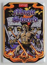 Magic Sword Side Art FRIDGE MAGNET (2.5 x 3.5 inches) video game arcade sideart