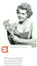 DONNA DOUGLAS STARFISH BUSTY SWIMSUIT OZZIE AND HARRIET ORIGINAL 60 ABC TV PHOTO