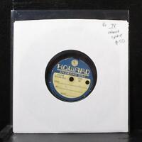 "Unknown Spoken Word Recording 7"" VG Vinyl 78 Howard Recording Disc"