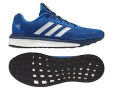Adidas Running vengeur Boost Homme Bleu/Argent Baskets Taille UK 8.5 EU 42.5