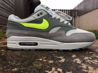 Nike Air Max 1 Size 8 UK EU 42.5 Mica Trainers Men's AH8145-300 NEW Free Post