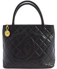 CHANEL Tasche Schultertasche Shoulder Bag Shopper Black Noir Schwarz Tasche