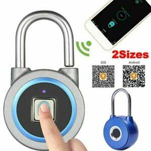Fingerprint Keyless Smart Door Lock / Bluetooth Anti-Theft Padlock Luggage Lock
