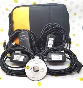 Allen Bradley (With Case) 1747-UIC USB 2711-NC13 1747-CP3 1761-CBL-PM02 SET