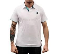 Oakley Down Time Polo Tee White Size M Mens Boys Medium Casual Tshirt Top