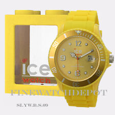 Authentic Ice Sili Yellow Big Watch SI.YW.B.S.09