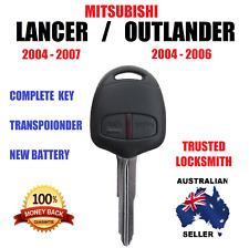 MIT11R-61 MITSUBISHI OUTLANDER LANCER TRANSPONDER REMOTE KEY 2004 2005 2006 2007