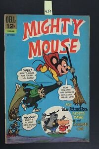 Dell Comics - MIGHTY MOUSE #168, 1966 - Feat. Deputy Dawg (450)