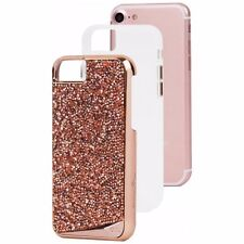 Case-Mate Brilliance Genuine Crystal Cover For Apple IPhone 7/6/6s - Rose Gold